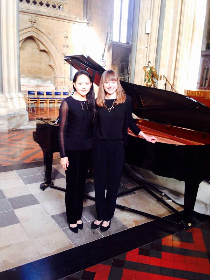 Piano Duo Partner Claire James